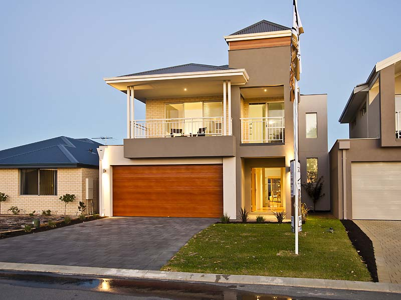 Small or narrow lot homes brisbane home builders Skinny block house designs