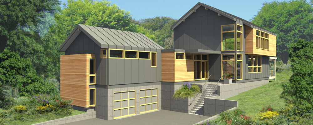 Sloping block homes brisbane builders desings for Houses for small blocks