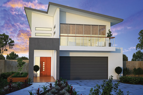 Small or narrow lot homes brisbane home builders for Homes for small lots